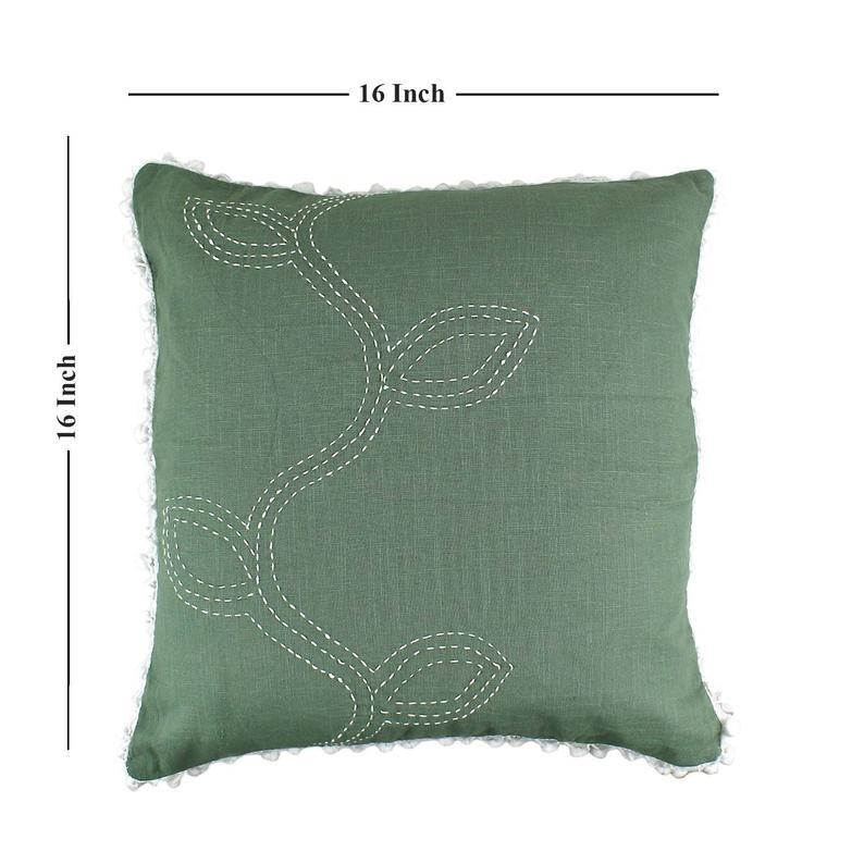 Embroidery Cotton Pillowcase , Cotton Pillow, Pillowcases, Cotton Cushion Cover with Zipper,Pillow Cover Cotton, Handwork Cotton Pillowcase