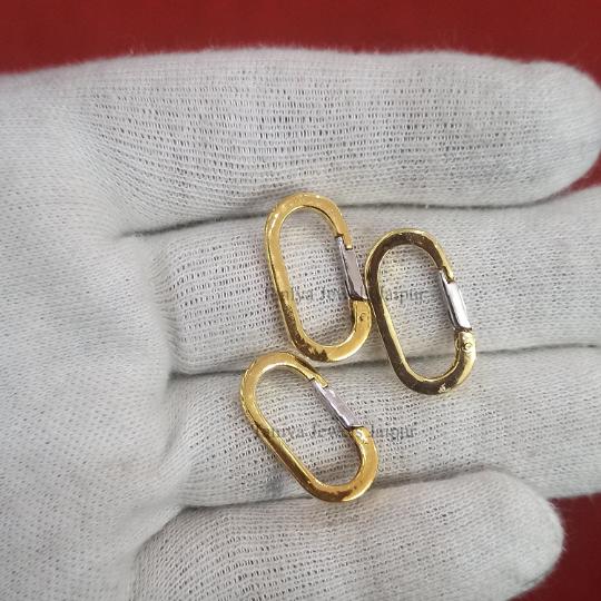 silver push lock jewelry