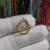 9K Solid Gold Enhancer, 9k Gold Charm Holder Lock, 9k Gold Hexagon Lock, Gold Enhancer, Charm Holder Lock, Solid Gold Jewelry, 9K Link Lock